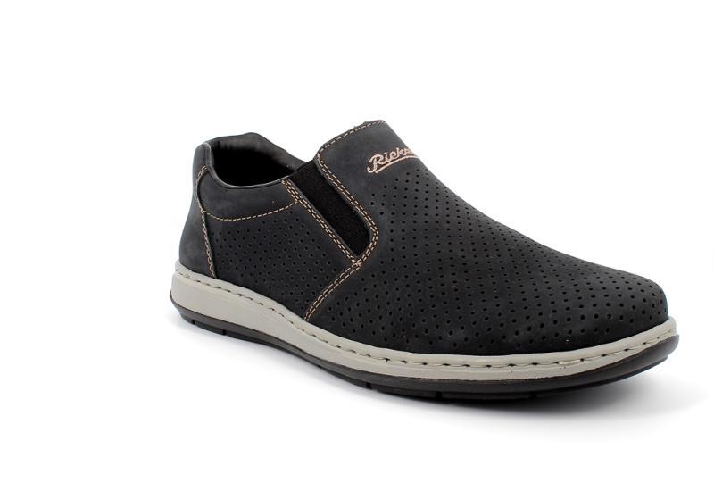 Rieker sötétkék lyukacsos cipő
