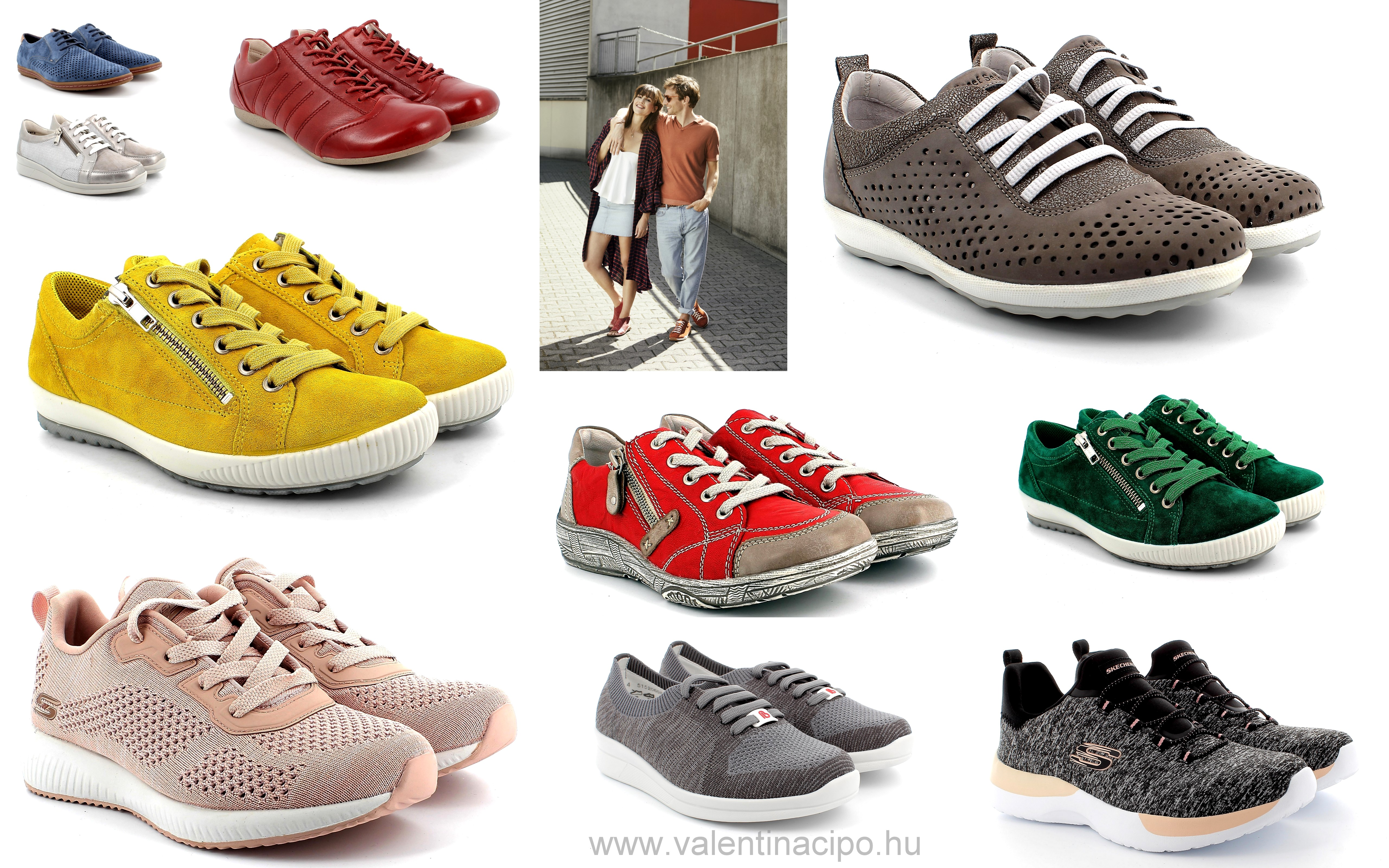 Sportos, csinos, kényelmes menő lapos cipők tavaszra