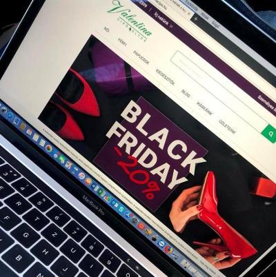 BLACK FRIDAY a Valentina Cipőboltokban és Webáruházunkban!
